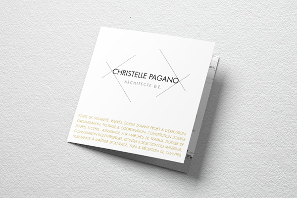 Orizuru créations   Christelle Pagano Architecte - Dépliant