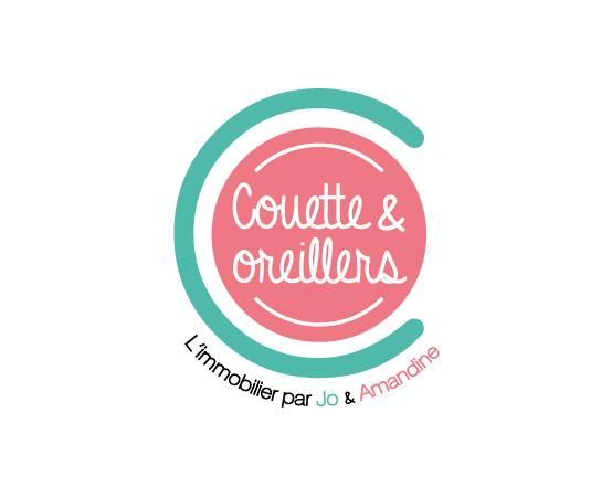 Orizuru | Graphiste webdesigner | Couette & oreillers - Logotype