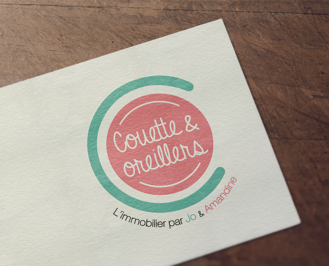 Couette & oreillers - Logotype