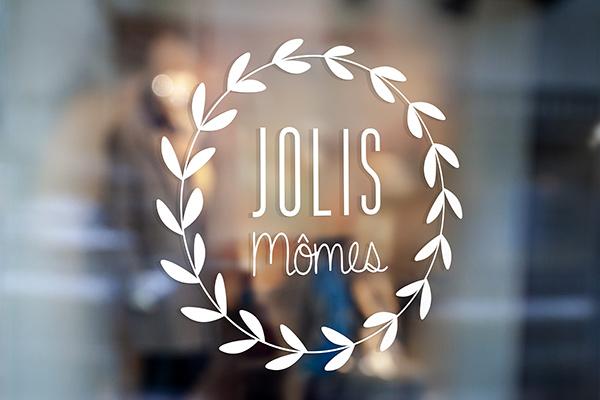 Orizuru | Graphiste webdesigner | Jolis Mômes - Logotype
