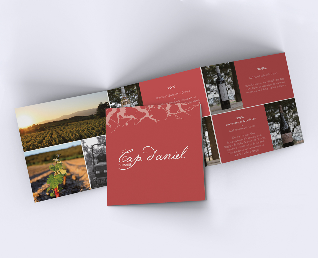 Orizuru créations | Domaine Cap d'aniel - Brochure