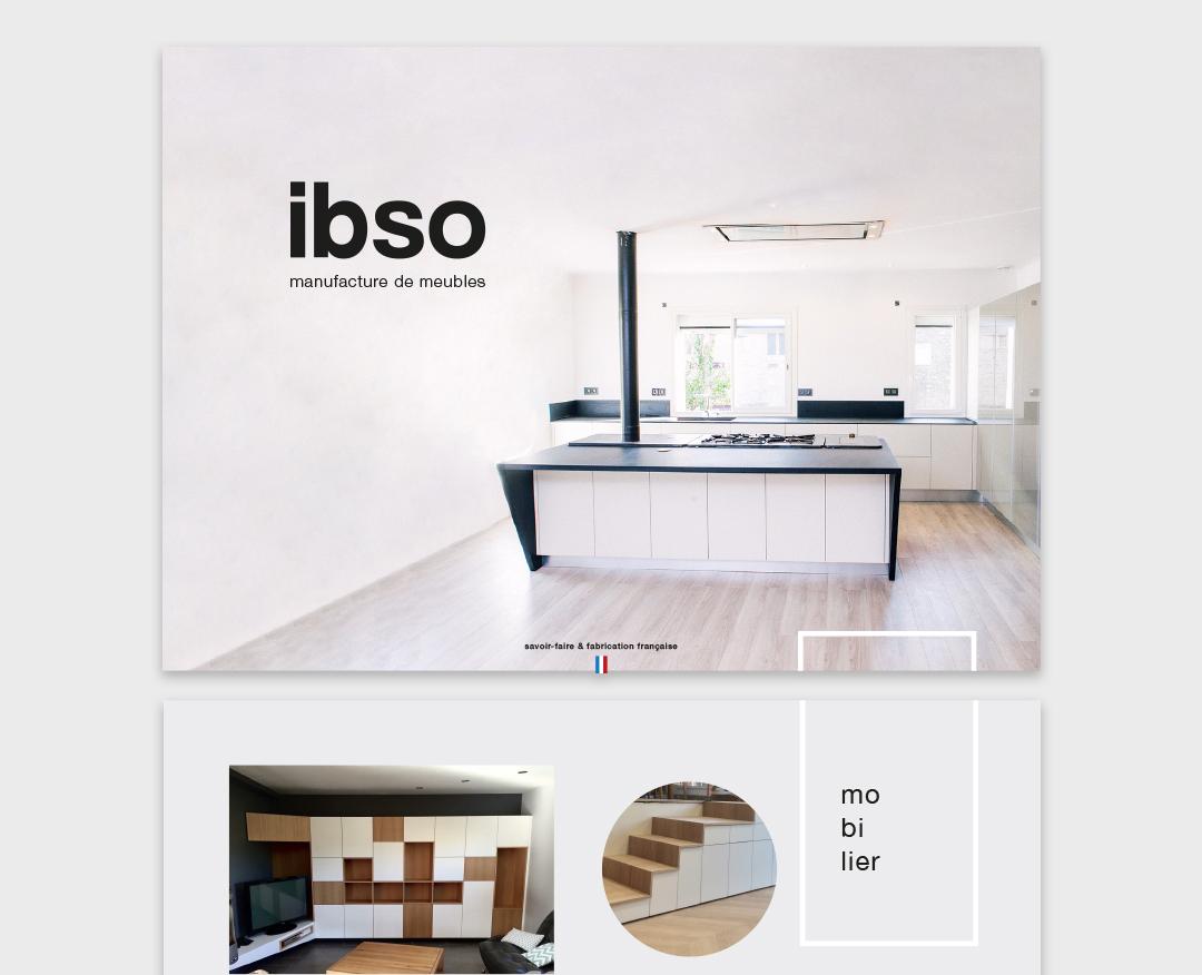 Orizuru créations | ibso - Manufacture de meubles - Plaquette commerciale