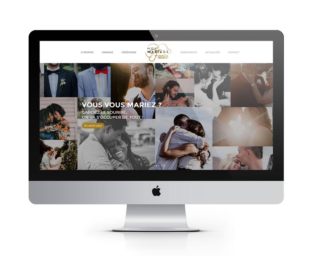 Orizuru | Graphiste webdesigner | Les lunettes de Pauline -  Mon mariage facile - Accueil