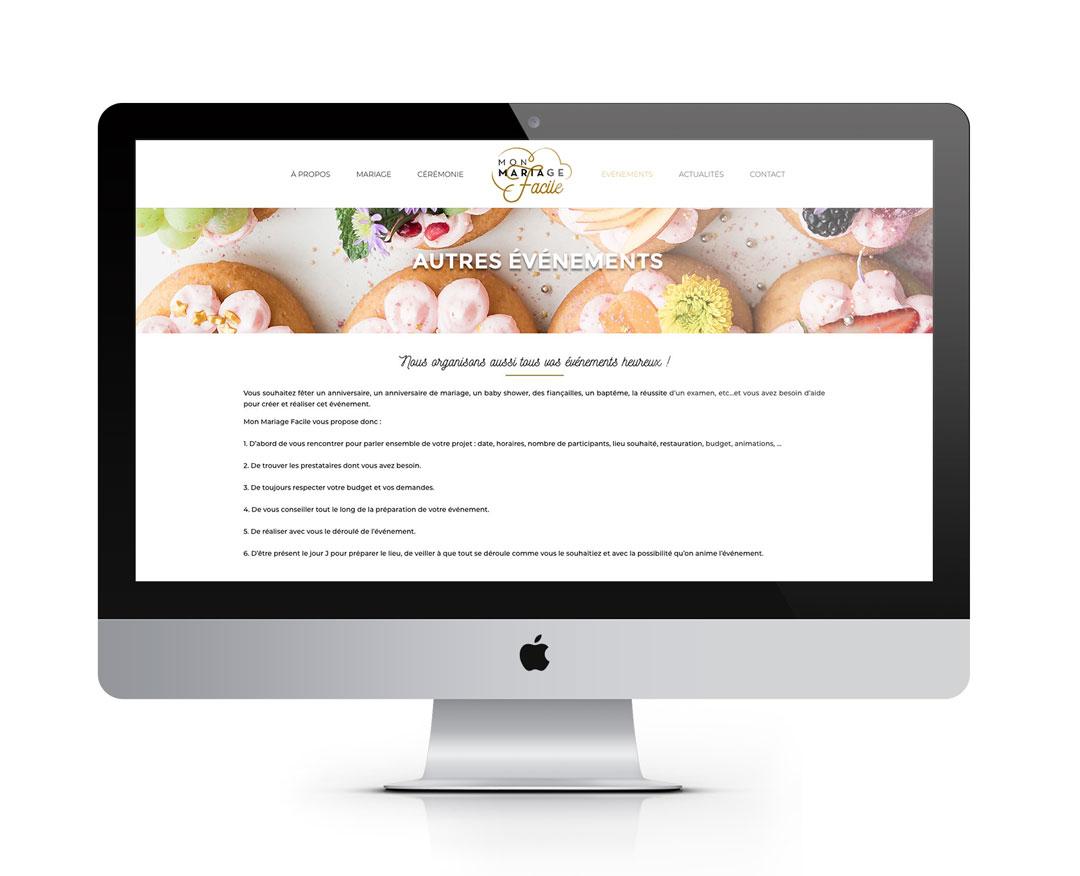 Orizuru | Graphiste webdesigner | Les lunettes de Pauline -  Mon mariage facile - Event