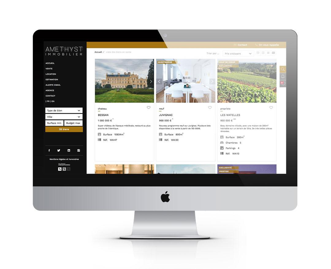 Orizuru   Graphiste webdesigner   Modèle Amethyst