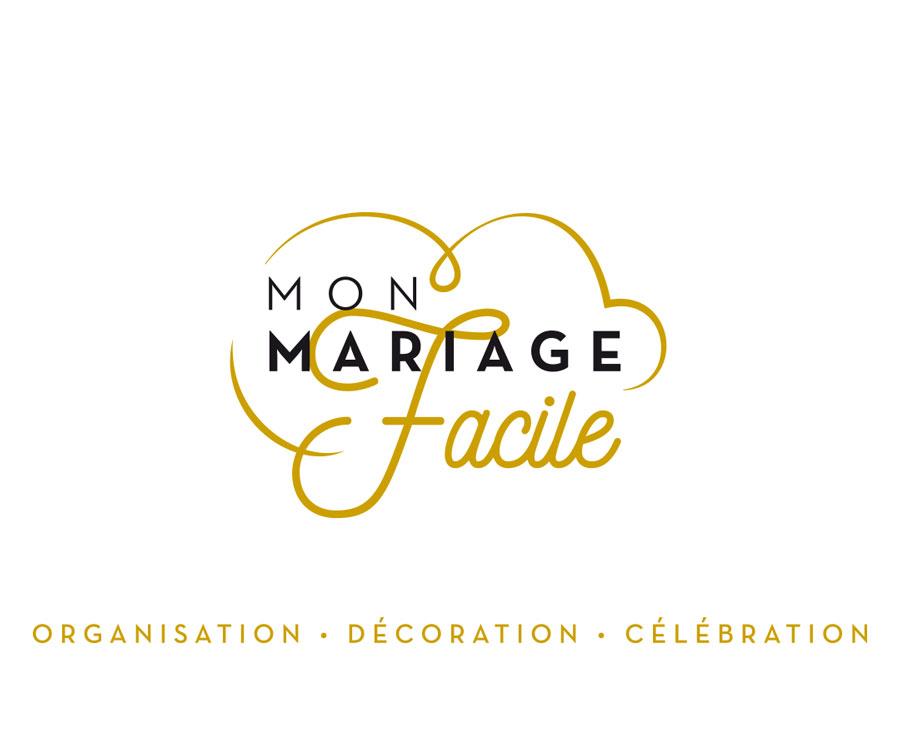Orizuru | Graphiste webdesigner | Les lunettes de Pauline -  Mon mariage facile - Logotype