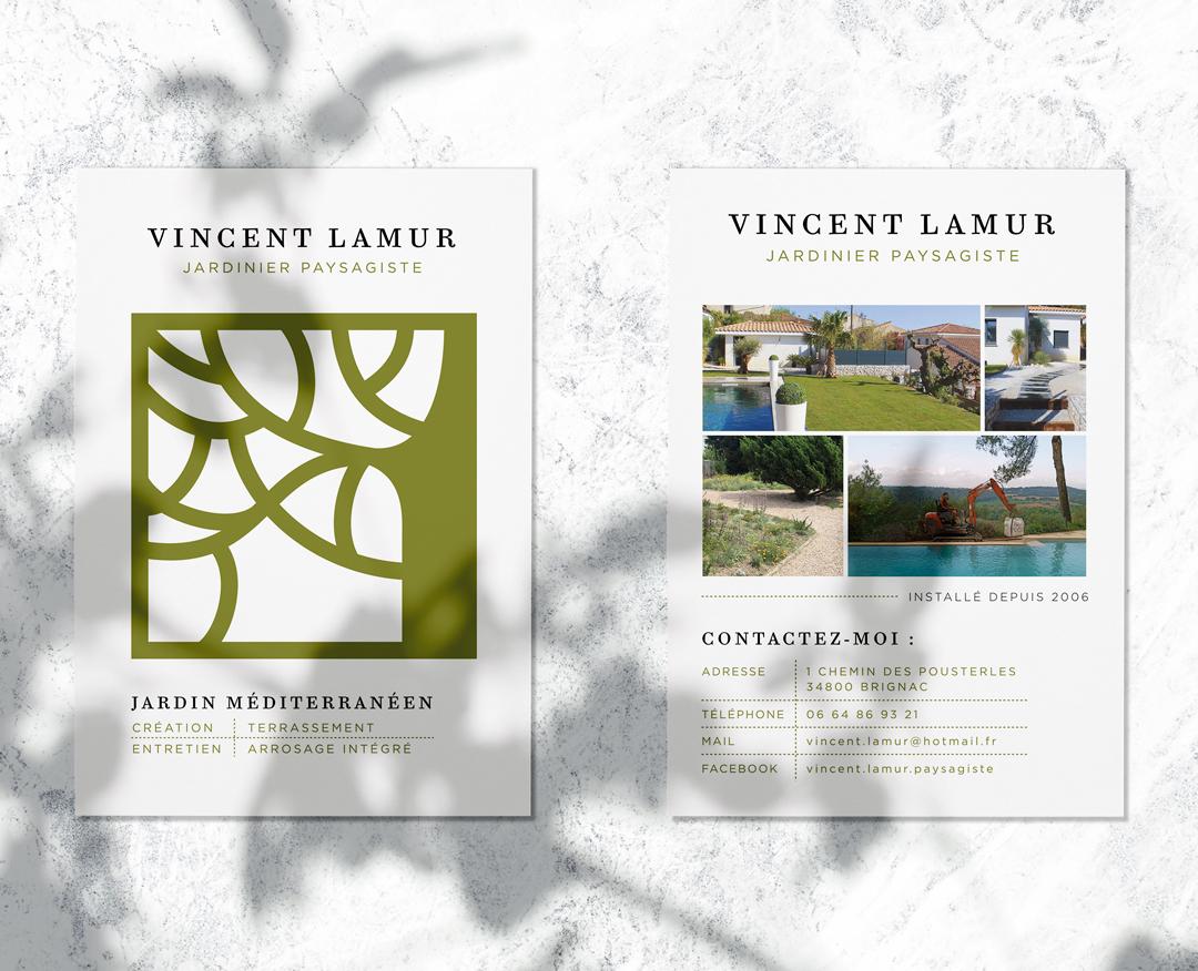 Vincent Lamur - Flyer