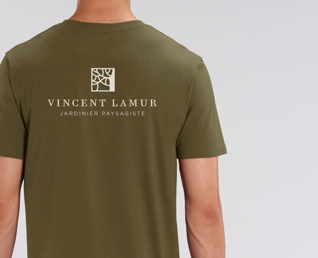 Vincent Lamur - T-shirt sérigraphie dos