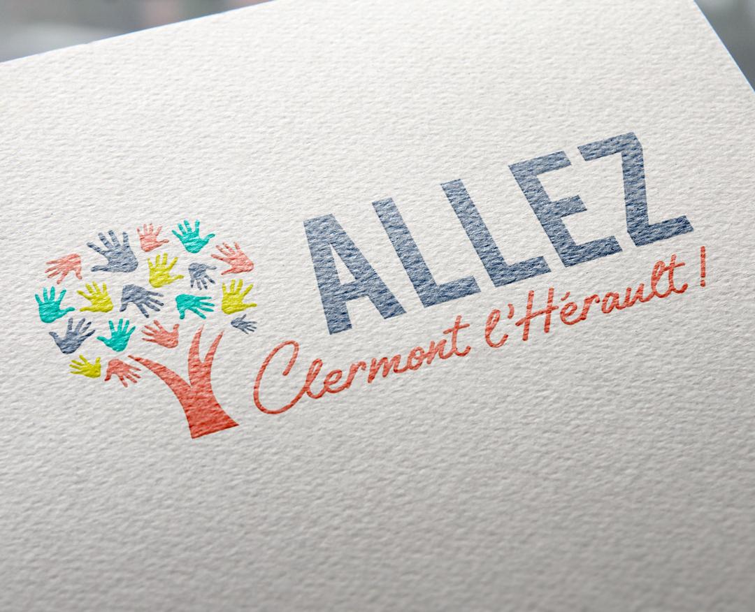 ALLEZ CLERMONT L'HÉRAULT ! - Logotype