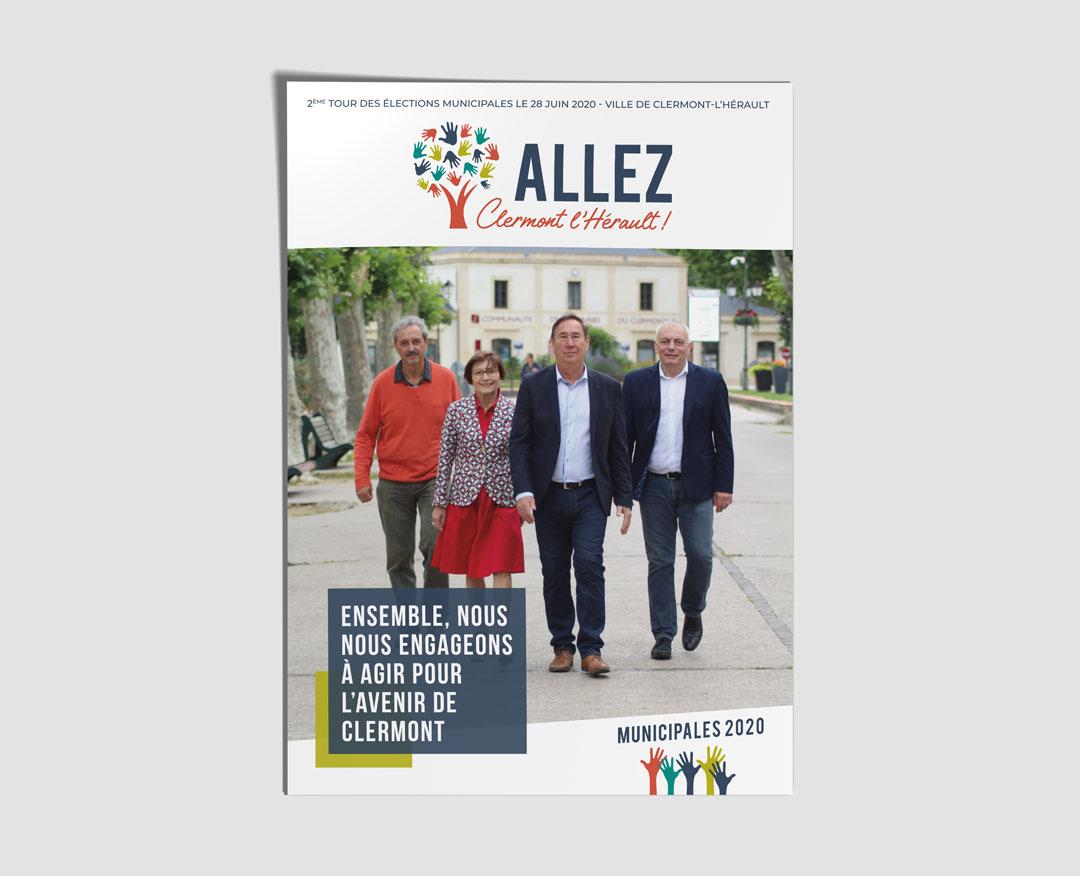 ALLEZ CLERMONT L'HÉRAULT ! - Flyer