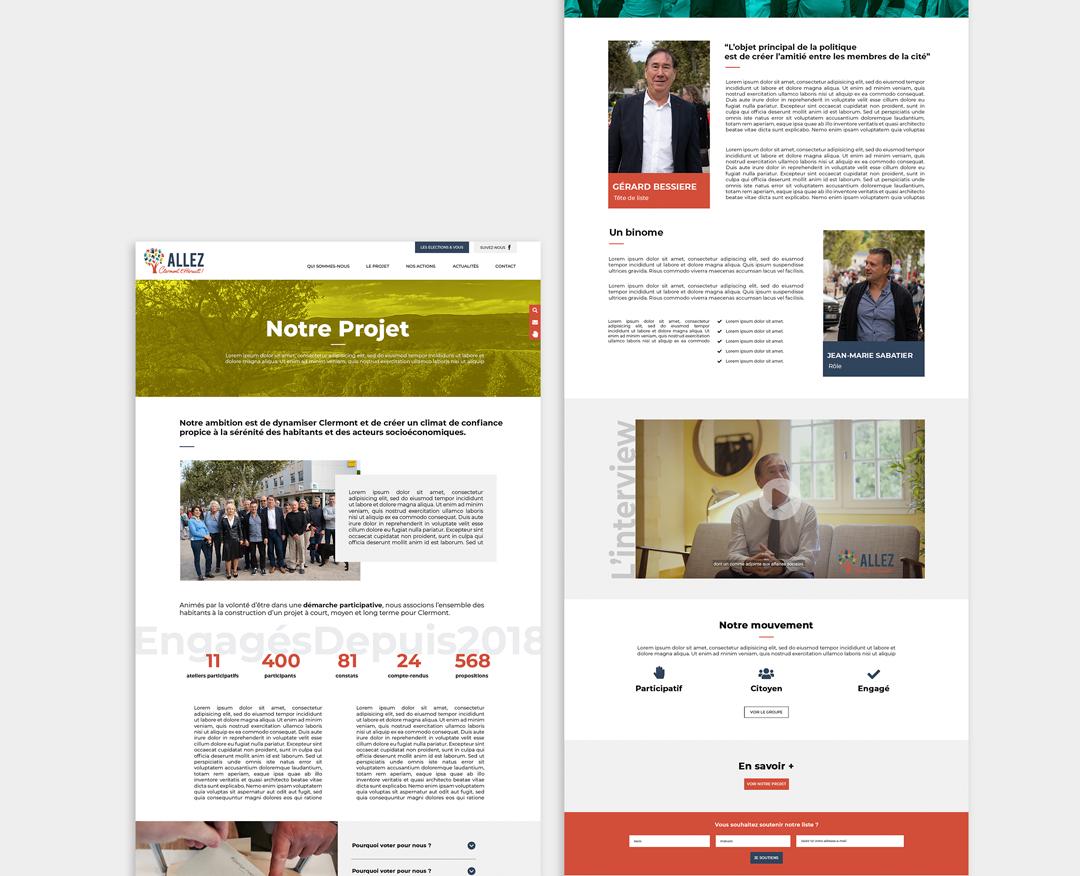 ALLEZ CLERMONT L'HÉRAULT ! - Webdesign