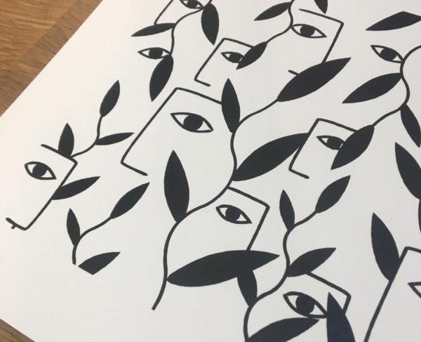 Orizuru créations - VUE - Black ~ Détails