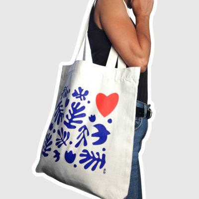 Orizuru créations - Love ~ Tote bag