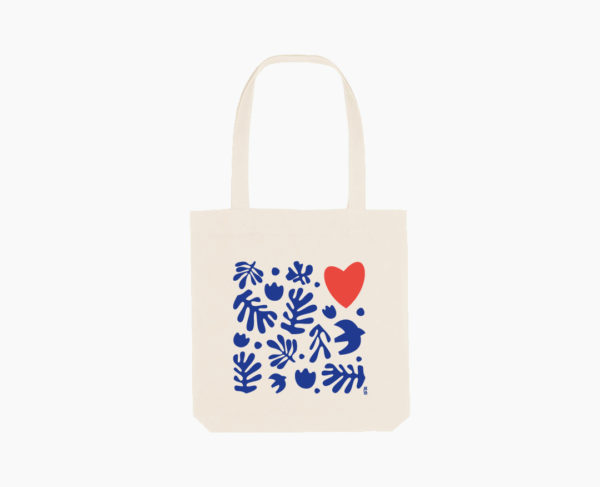 Orizuru créations - Love ~ Tote bag