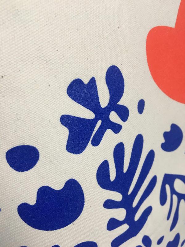 Orizuru créations - Love ~ Tote bag - détails